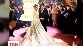 Донька нафтового магната з Таджикистану вийшла заміж у сукні за 650 тисяч доларів