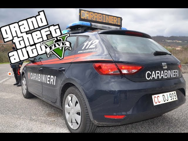 GTA 5 LSPDFR CARABINIERI 112 SEAT LEON : Controlli con Autovelox