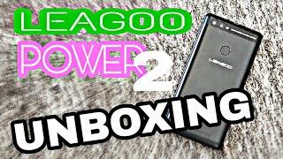 LEAGOO POWER 2 Unboxing e Prime Impressioni!