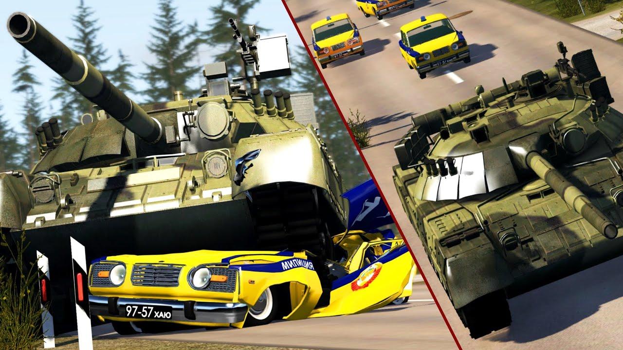 Crash Test Dummy: Soviet Escape   BeamNG.drive
