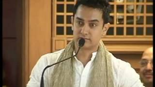Aamir Khan-True meaning of education......