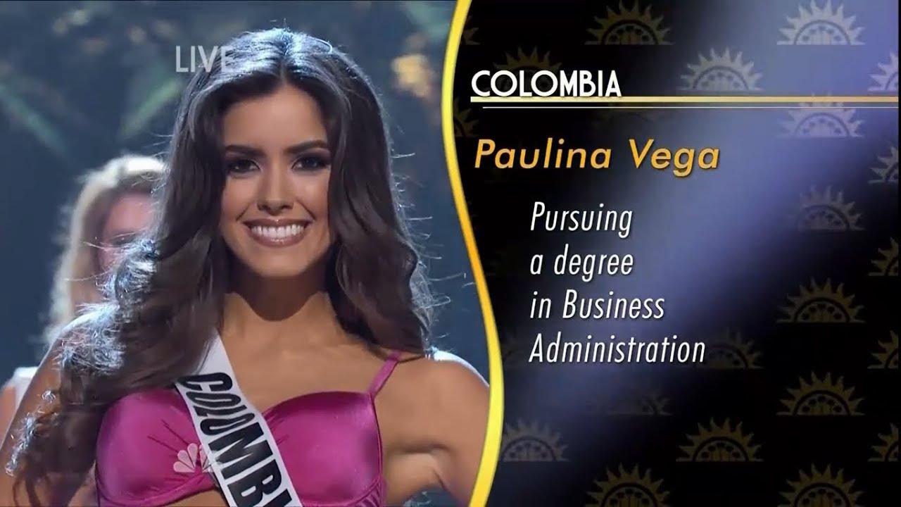 Miss Universe Paulina Vega: Paulina Vega, Miss Universe 2014-2015 HD