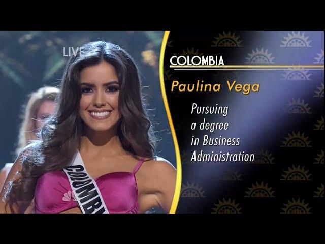 Paulina Vega, Miss Universe 2014-2015  HD