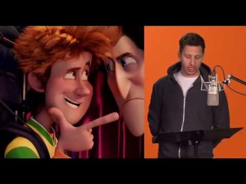 Hotel Transylvania 2: Behind the Scenes of Voice Acting Matched with Movie