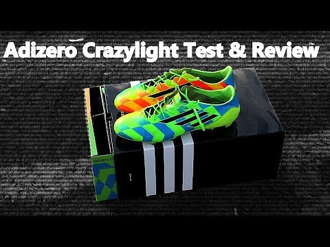 40228bdf5 New Gareth Bale f50 Adizero Crazylight Boots Test   Review - YouTube