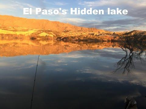 El Paso's Hidden Lake (getting Skunked)