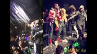 Tekashi 69 Gets Buckets Thrown at him by Minnesota goons after he says he ran them off the block.