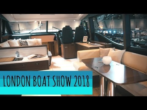 Could You Live On A £2million Superyacht? - London Boat Show 2018