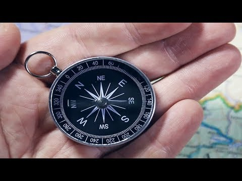 how to make emergency magnetic compass at home | DIY Project | Homemade