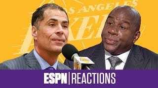 Stephen A Jalen Rose and more react to Magic Johnson on First Take   ESPN Voices