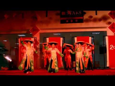 [Tết dân gian 2014] Những cô gái Việt Nam(múa)
