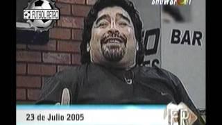 Argentinos Jrs 5 vs Boca juniors 3 Nacional 1980 y Maradona en Mar de Fondo 2005 FUTBOL RETRO TV