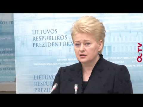 Dalia Grybauskaitė (komentaras)