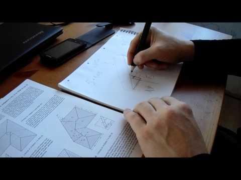Как узнать длину стропила на двухскатную крышу