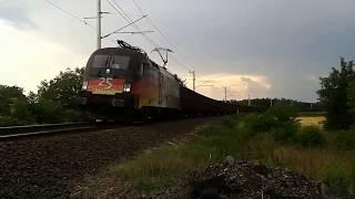A mai meglepetésvendég a 16-os vonalon az MRCE 182 560 pályaszámú T...