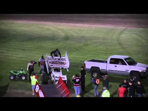 Dominic Scelzi 8/17/12 Last Laps Win Ocean Speedway Watsonville