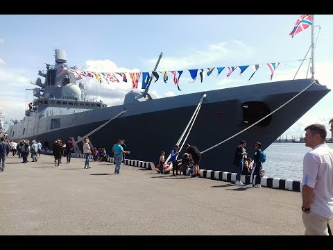 Военные корабли в
