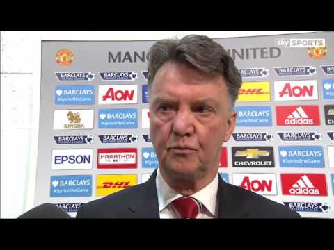 Louis van Gaal Post-match interview after Southampton defeat.