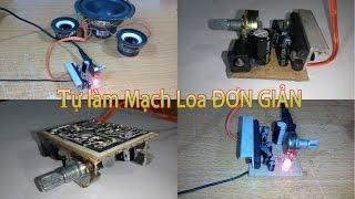 Hướng dẫn làm mạch loa, Amply đơn giản từ bìa cứng, IC LA4440