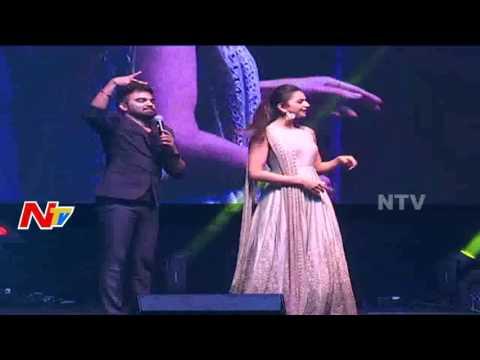Rakul Preet Singh Funny Washing Clothes Step Along With Pradeep At NATA Convention | US Video | NTV