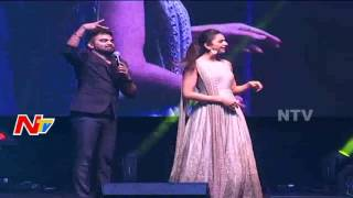 Rakul Preet Singh Funny Washing Clothes Step along with Pradeep at NATA Convention | US Video | NTV