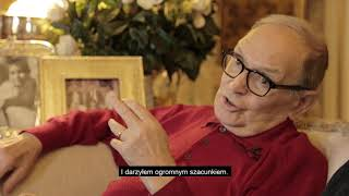 Ennio Morricone opowiada o Sergiu Leone i szkole Goffreda Petrassiego