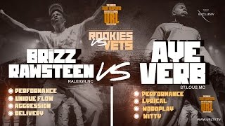 AYEVERB VS BRIZZ RAWSTEEN