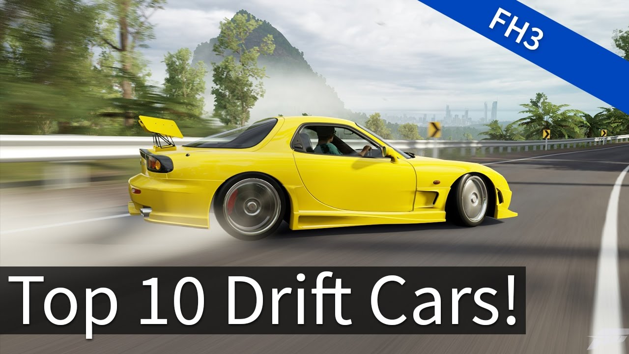 Forza Horizon Top Drift Cars Youtube