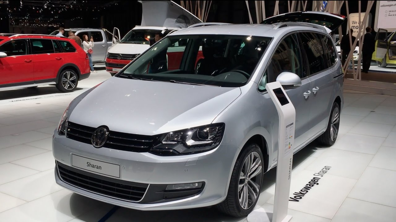 volkswagen sharan 2017 in detail review walkaround interior exterior youtube. Black Bedroom Furniture Sets. Home Design Ideas