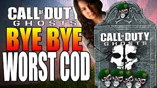Call Of Duty Ghosts  Was Call Of Duty Ghosts The Worst COD Ever made K7 SMG Gameplay
