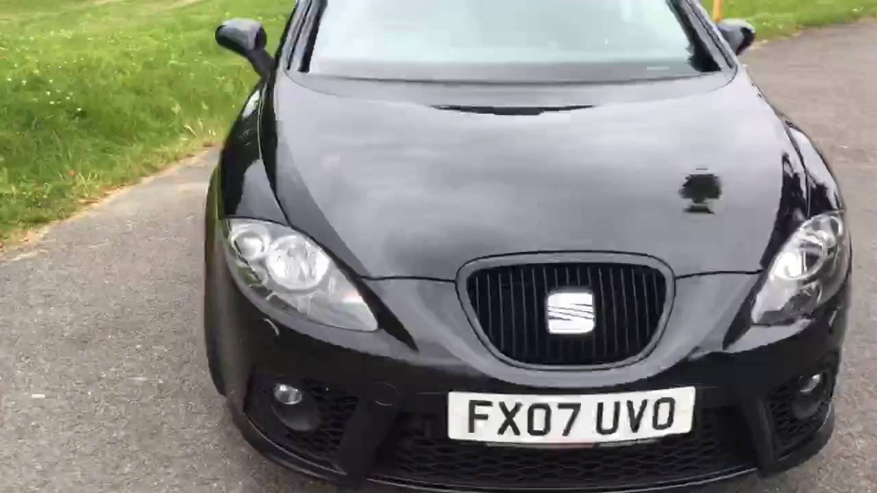 Dodatkowe Black Seat Leon 2 0 TFSI 197 BHP FR 5 Door 6 Speed Bluetooth KT23