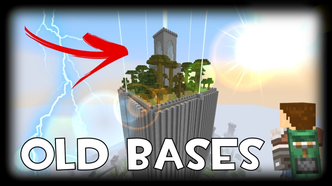 MINECRAFT'S OLDEST BASES (Project Vault) (2b2t org)