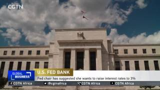 U.S. Federal Reserve on course to raise interest rates