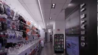 RadioShack Concept Store Remodel Time Lapse