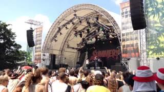 Megaloh - Leben lieben lernen live - Summerjam 2013 Köln
