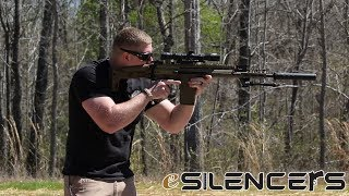 Check out our full review on the SilencerCo Saker ASR series at htt...