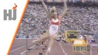 1992 Barcelone - Le saut victorieux de Heike Drechsler