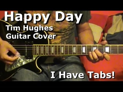 Happy Day By Tim Hughes  Lead Electric Guitar - I HAVE TAB!!!