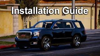 GTA V Mods   Installation Guides   2015 GMC Yukon Denali
