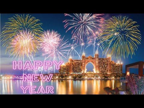 4K Video DUBAI New Year 2020 fireworks – #Dubai #PalmJumeirah #Pointe #Atlantis