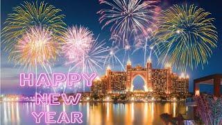 4K DUBAI New Year 2020 fireworks Dubai PalmJumeirah Pointe Atlantis