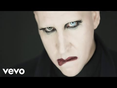 Marilyn Manson  Tattooed In Reverse Music Video
