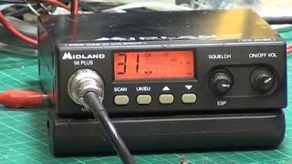 Midland 98 Plus UK CB27/81 CB Radio (mobile) - On The Air test