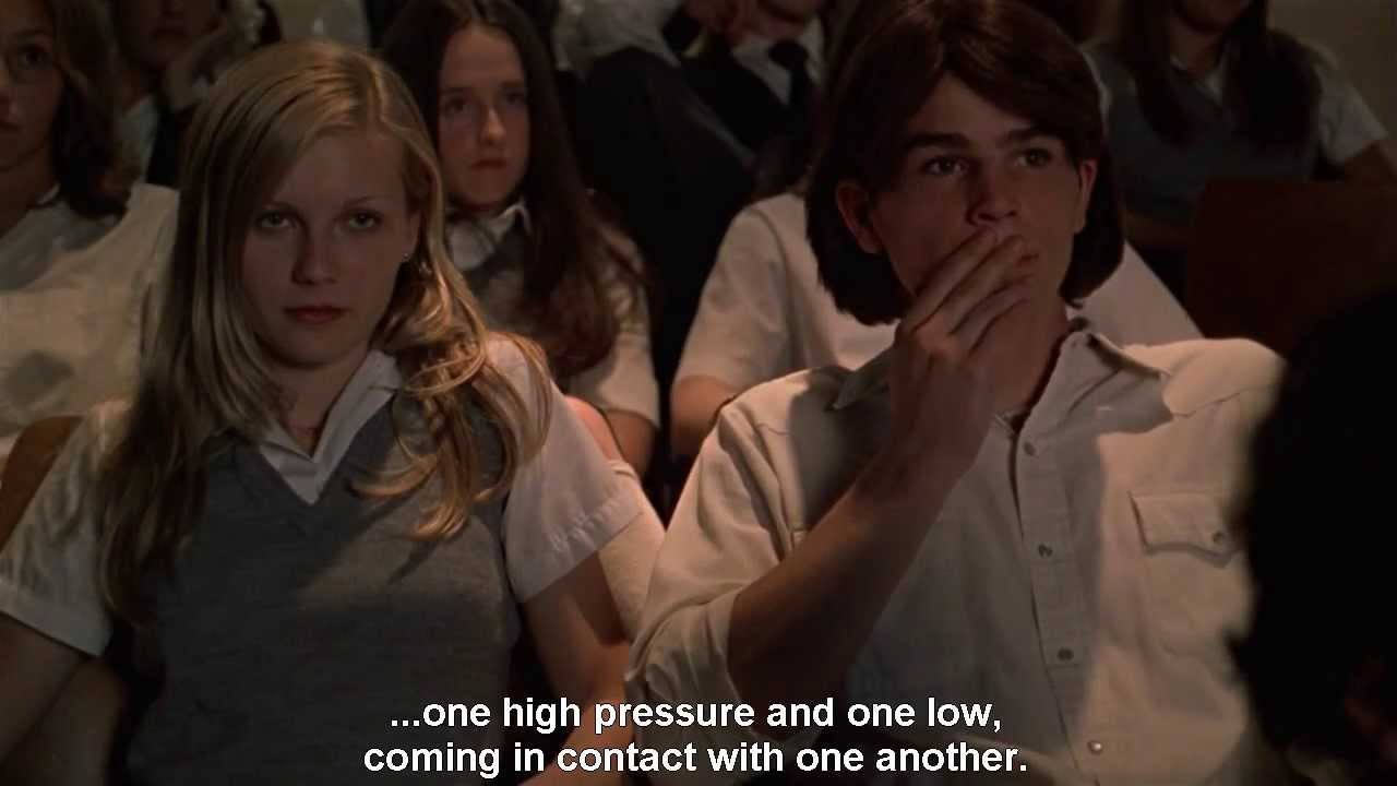 Citation de LE NARRATEUR dans VIRGIN SUICIDES