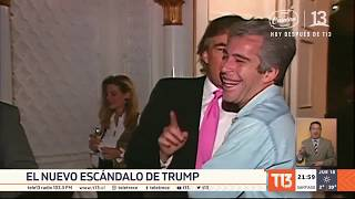 Escándalo por video de Trump junto a empresario acusado de pederastia