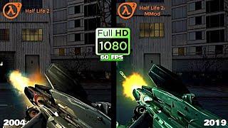 Half Life 2 vs. Half Life 2 MMod - Weapons Comparison