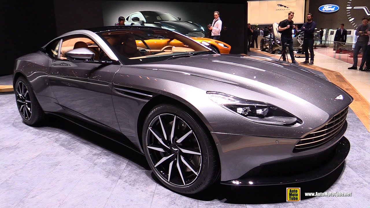 2017 Aston Martin Db11 Exterior And Interior Walkaround Debut At 2016 Geneva Motor Show