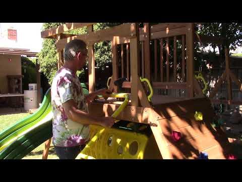 DIY Rocken Adventure Wooden Swing Set (V13 of 14)