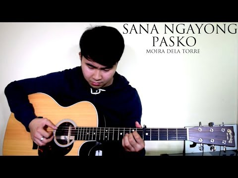 Moira Dela Torre | Sana Ngayong Pasko (Fingerstyle cover by Jorell)