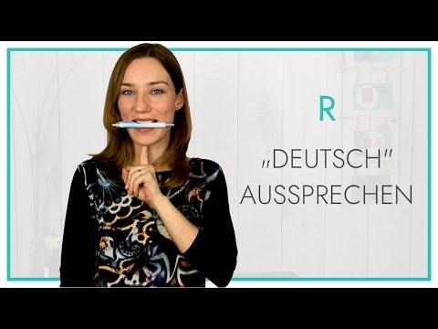 """Das R """"deutsch"""""""